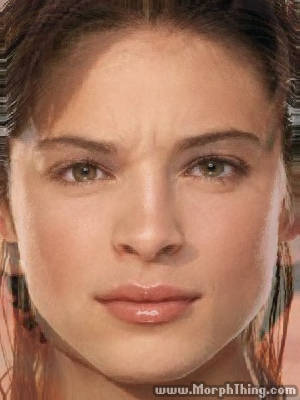 The faces of Tom Welling and Kristin Kreuk combined together -