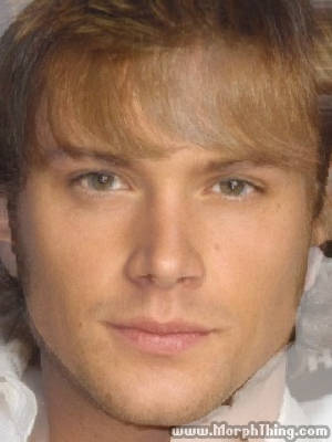 The faces of Jared Padalecki and Jensen Ackles combined together -