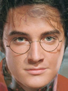 Harry Potter's Face Morphed with Elvis Presley -