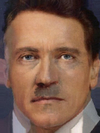 Adolf Hitler and Arnold Schwarzenegger