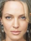 Angelina Jolie and Uma Thurman