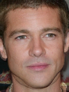 Antonio Banderes and Brad Pitt