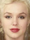 Thora Birch and Marilyn Monroe