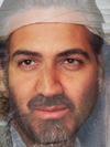 Osama Bin Laden and Geoge Clooney