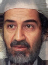 Osama Bin Laden and Saddam Hussein