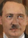 Vladimir Putin and Adolf Hitler