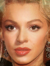 Marilyn Monroe 2 and Beyonce Knowles