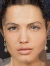 Angelina Jolie and Cristiano Ronaldo