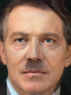 Adolf Hitler and Tony Blair