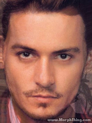 Johnny Depp and Orlando Bloom -