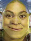 Kristin Kreuk and Shrek