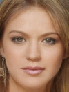 Kelly Clarkson and Lindsay Lohan Faces Combined Together -
