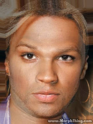 The faces of Fifty Cent and Britney Spears combined together -