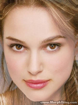 Natalie Portman and Keira Knightley Faces Combined Together -