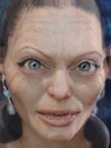 Gollum and Angelina Jolie