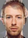Thom Yorke and Chris Martin
