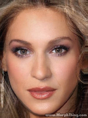 Beyonce Knowles and Sarah Jessica Parker Faces Combined Together -