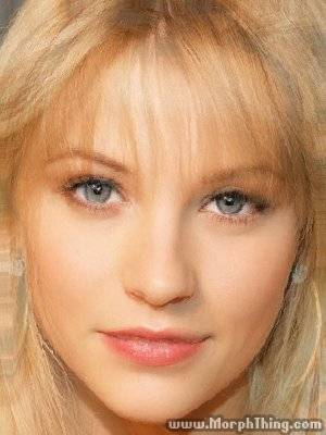 Britney Spears and Christina Aguilera's Face Combined with Emilie de Ravin -