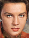 Elvis Presley and Ann Margret Faces Combined Together -